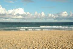 Fundo do oceano e da praia Imagem de Stock Royalty Free
