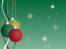 Fundo do ornamento do Natal Ilustração Royalty Free