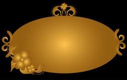 Fundo do ouro ilustração stock