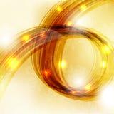 Fundo do ouro Imagens de Stock Royalty Free