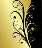 Fundo do ouro Fotos de Stock Royalty Free