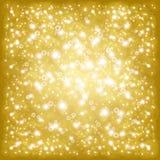 Fundo do ouro ilustração royalty free