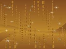 Fundo do ouro do Glitter ilustração stock