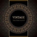 Fundo do ouro do vintage Imagens de Stock Royalty Free