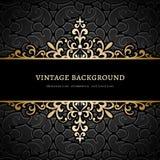Fundo do ouro do vintage Fotografia de Stock Royalty Free