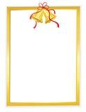 Fundo do ouro/sinos dourados ilustração royalty free