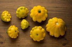 Fundo do outono com a agricultura colhida Imagem de Stock