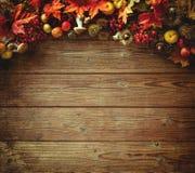 Fundo do outono da ação de graças Foto de Stock