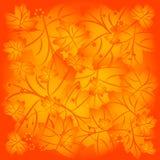 Fundo do outono das folhas de bordo Fotos de Stock Royalty Free