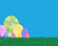 Fundo do ovo de Easter Fotografia de Stock Royalty Free