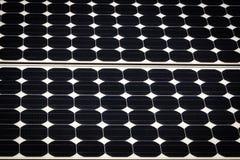Fundo do painel solar Imagens de Stock Royalty Free