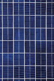 Fundo do painel solar Foto de Stock Royalty Free