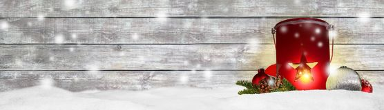 Fundo do panorama da bandeira do Natal Imagens de Stock Royalty Free