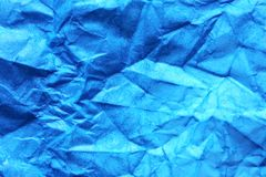 Fundo do papel azul fotografia de stock royalty free