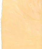 Fundo do papel da cor do pêssego com bordas rasgadas Fotos de Stock Royalty Free