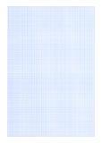 Fundo do papel de gráfico - cor azul Fotos de Stock Royalty Free