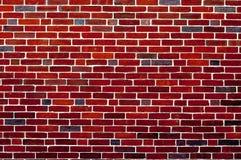 Fundo do papel de parede do contexto da textura do teste padrão da parede de tijolo vermelho Imagem de Stock Royalty Free