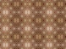 Fundo do papel de parede do teste padrão de Brown Fotografia de Stock Royalty Free