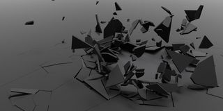 fundo do papel de parede do sumário do fragmento 3D Imagem de Stock Royalty Free