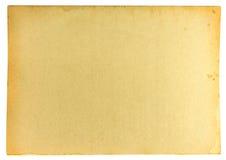 Fundo do papel velho com mancha Fotos de Stock