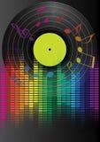 Fundo do partido da música ilustração royalty free