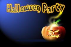 Fundo do partido de Halloween Foto de Stock