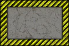 Fundo do perigo. linhas de advertência, preto e amarelo. ilustração stock