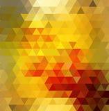 Fundo do polígono do arco-íris do redemoinho ou quadro colorido do vetor Imagem de Stock Royalty Free