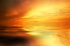Fundo do por do sol Fotos de Stock Royalty Free