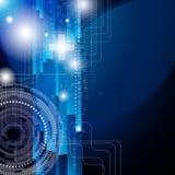 Fundo do projeto com os elementos digitais. Imagens de Stock Royalty Free