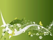 Fundo do projeto das flores ilustração stock