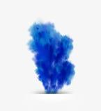 Fundo do projeto do fumo Fotografia de Stock