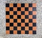 Fundo do projeto do tabuleiro de xadrez Feche acima do tabuleiro de xadrez para o fundo Imagens de Stock Royalty Free