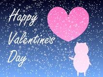 Fundo do projeto dos corações Cartão Valentine Day Ilustração do vetor Teste padrão do coração Confetti de queda Eps 10 ilustração stock