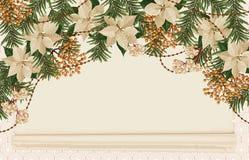 Fundo do quadro do Natal imagem de stock royalty free