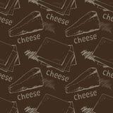 Fundo do queijo Fotografia de Stock