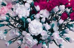Fundo do ramalhete da flor dos cravos Foto de Stock
