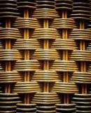 Fundo do rattan do Weave Foto de Stock