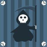 Fundo do Reaper Fotografia de Stock