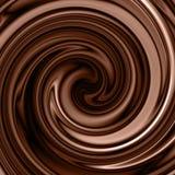 Fundo do redemoinho do chocolate ilustração stock