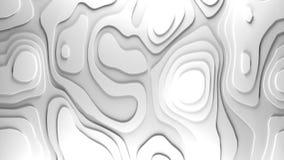 fundo do relevo da topologia 3D fotografia de stock