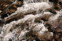 Fundo do rio da montanha Fotos de Stock
