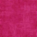 Fundo do Scrapbook da cor-de-rosa quente Imagens de Stock Royalty Free