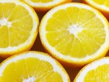 Fundo do secção transversal das laranjas Imagem de Stock Royalty Free