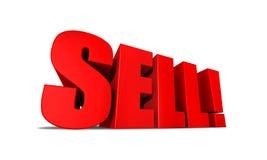 Fundo do Sell foto de stock