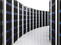 Fundo do server 3d Imagens de Stock