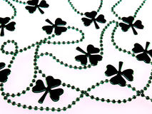 Fundo do Shamrock Imagem de Stock Royalty Free
