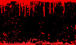 Fundo do splat do sangue ilustração do vetor