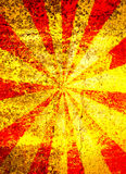 Fundo do starburst de Grunge Imagens de Stock Royalty Free