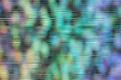 Fundo do sumário do arco-íris de Bokeh com linhas do pulso aleatório imagem de stock